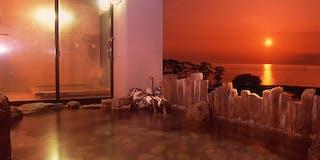 初桜の湯 露天風呂