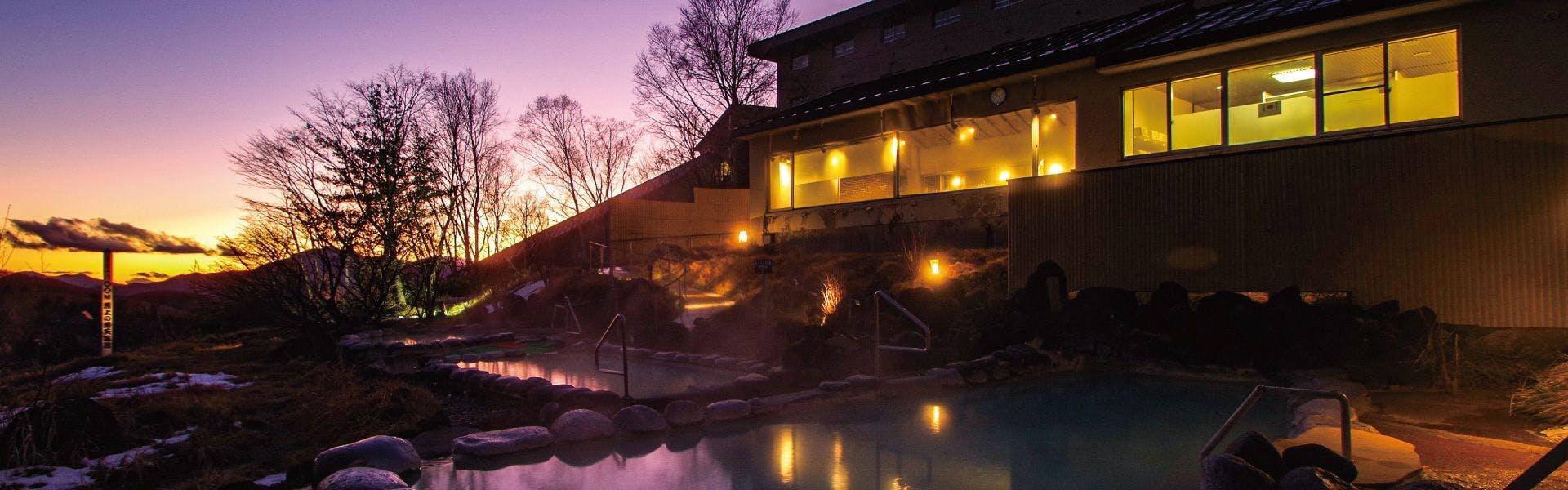 記念日におすすめのホテル・【万座プリンスホテル】の写真1