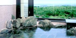 標準和室の展望岩風呂