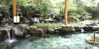 庭園露天風呂 岩風呂