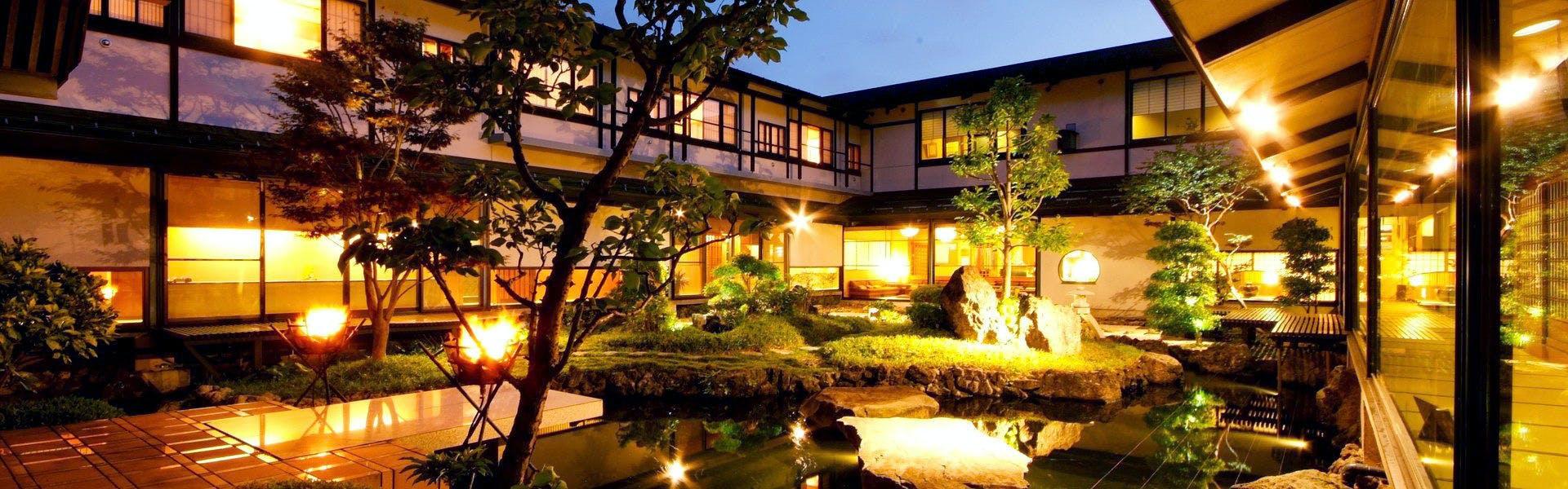 記念日におすすめのホテル・城崎温泉 かがり火の宿 大西屋水翔苑の写真1