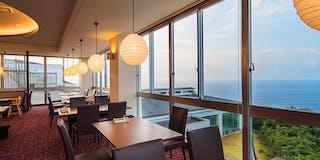 太平洋を望むレストラン「海神(わだつみ」