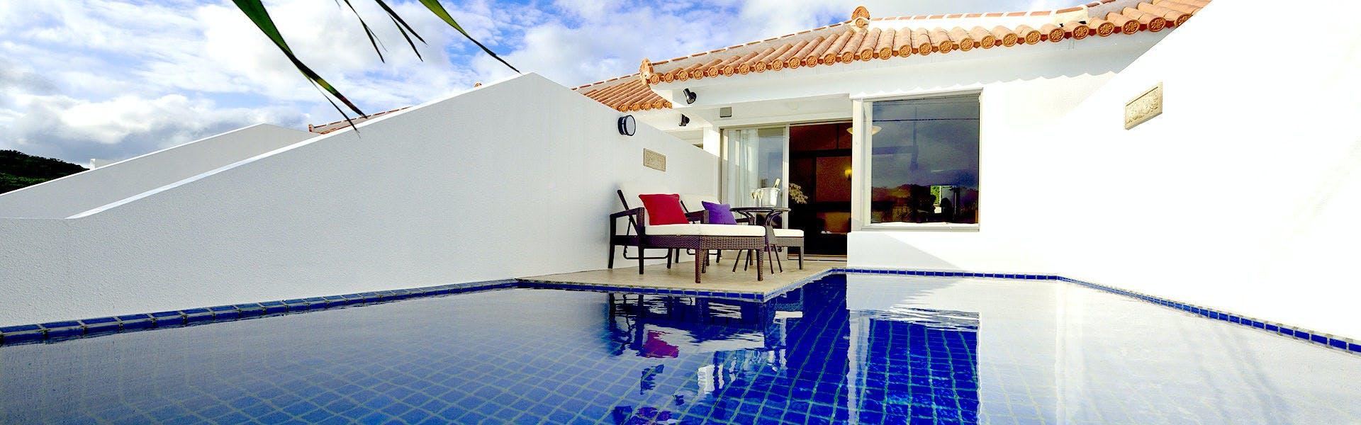 プールテラス イムギャースイート pool terrace IMGYA SUITE