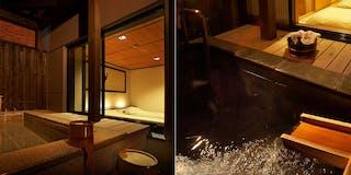 露天風呂の間