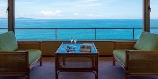 海側客室 眺望一例
