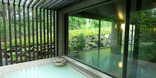 露天風呂付温泉浴場