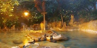 「遊楽」男の湯 露天風呂