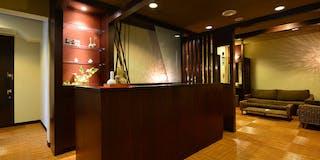 リラクゼーションサロン「癒しのセラピー」店内風景