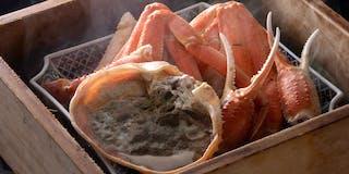 ずわい蟹セイロ蒸し