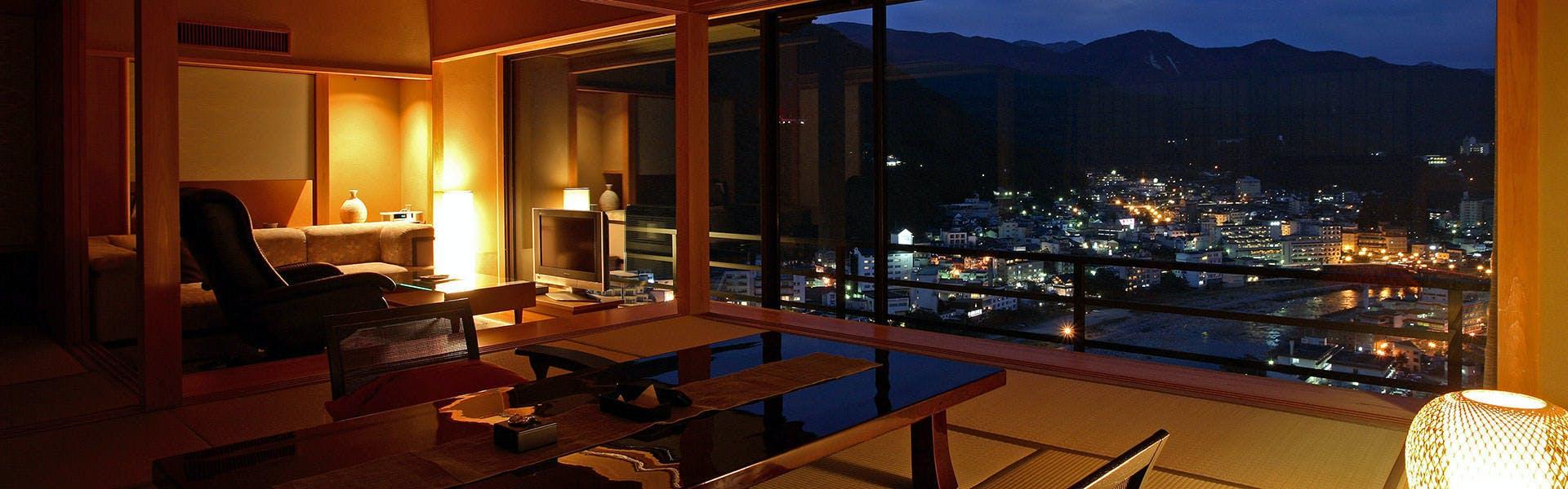 記念日におすすめのホテル・下呂温泉 今宵 天空に遊ぶ しょうげつの写真1