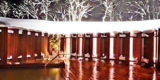 天然温泉(雪見露天風呂)