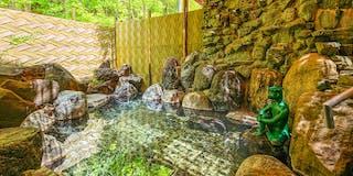 露天風呂「河童の湯」