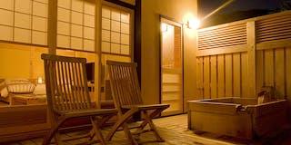 別棟「姫子松の抄」和洋室【源泉掛け流し露天風呂付】