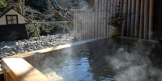 ヒノキ露天風呂(時間で男女入れ替え)