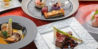 <夕食一例>厳選素材の贅沢な味わいを楽しめる
