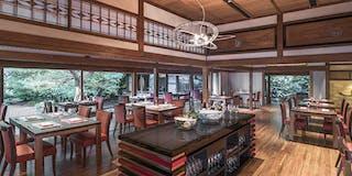 レストラン「京翠嵐」内観