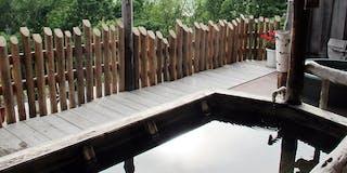 網走湖を一望する絶景の露天風呂