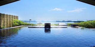 【八百八島】露天風呂からの眺め