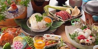 夏の会席料理 一例