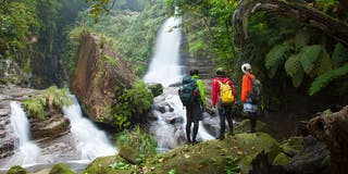 秘境ナーラの滝へ ダイナミック西表島アドベンチャー