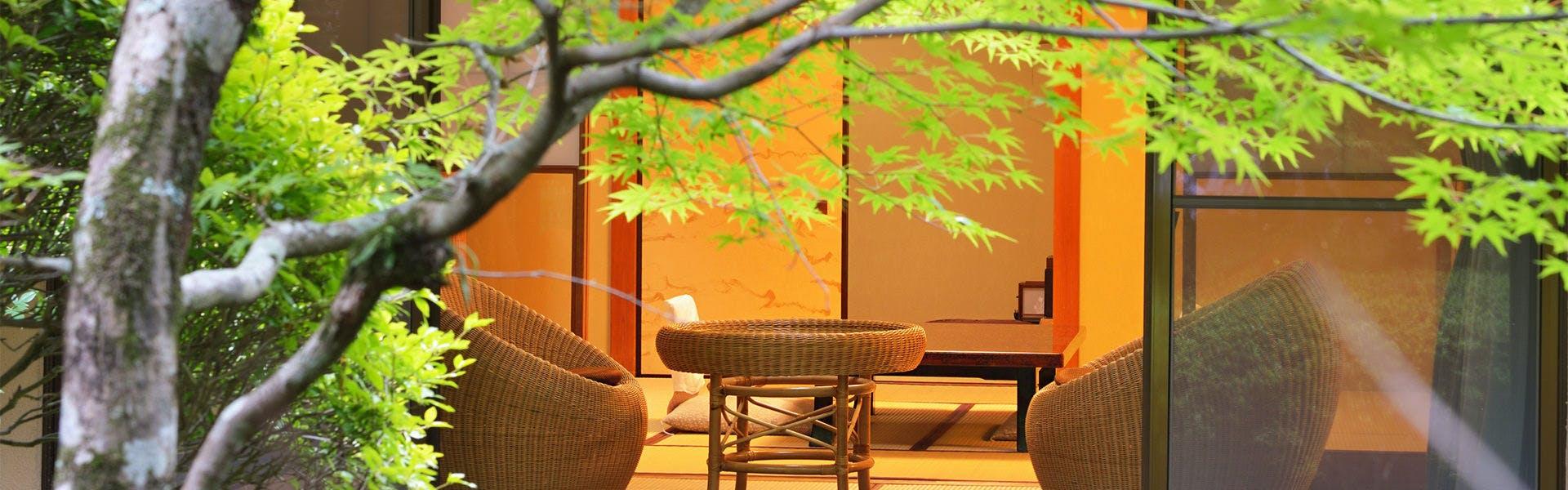 記念日におすすめのホテル・【箱根湯本温泉 玉庭】の写真1