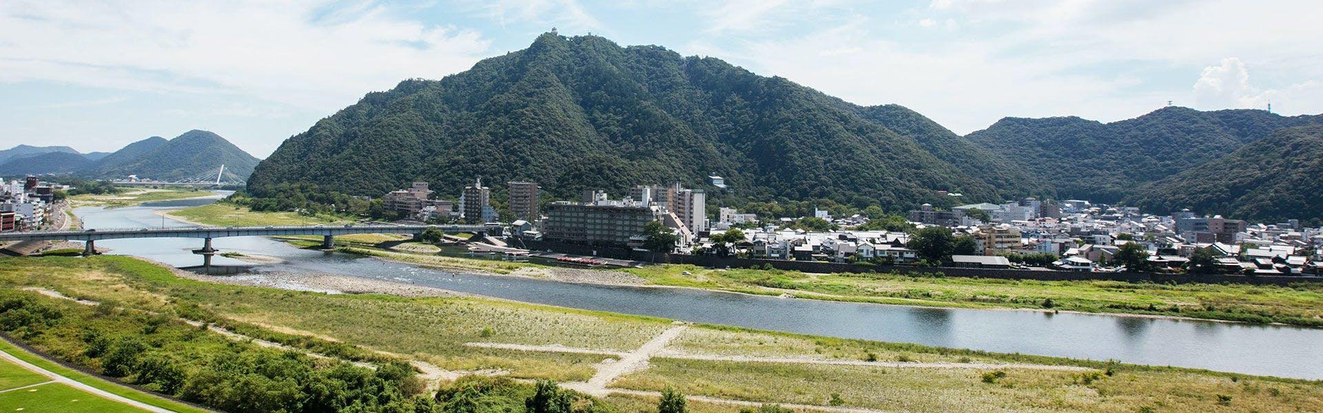 金華山・長良川