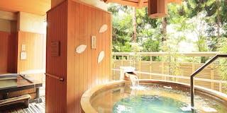 「天女の湯」露天風呂