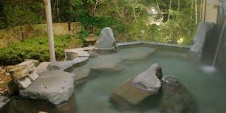 駿河の湯(露天風呂)