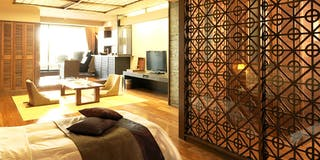 露天風呂付客室「古の座」