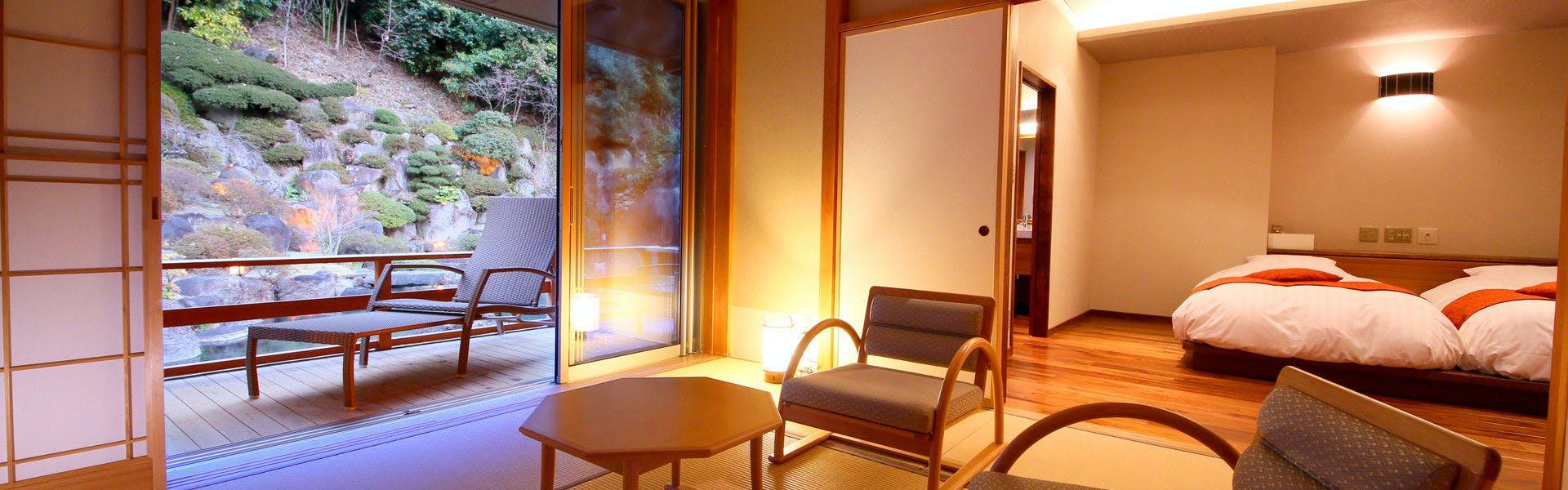 記念日におすすめのホテル・笛吹川温泉 坐忘の写真2