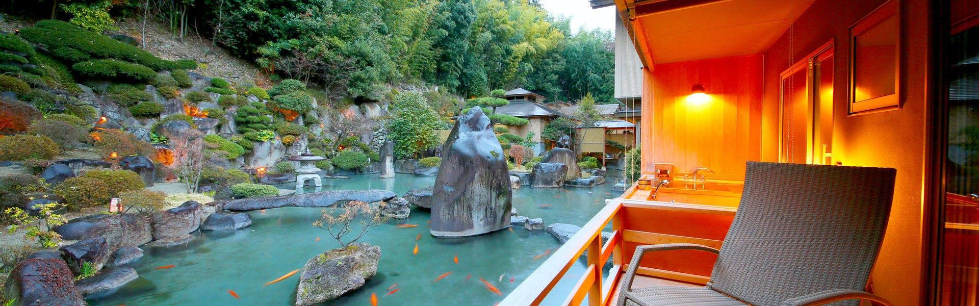 記念日におすすめのホテル・笛吹川温泉 坐忘の写真1