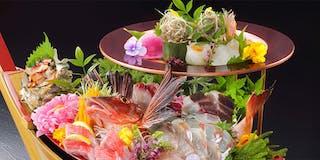 お料理イメージ(大漁 2段舟盛り)
