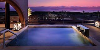 「千の湯」 露天風呂