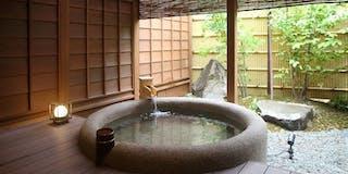 1階 露天風呂付客室 木米