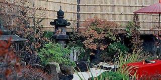 四季の風情を見せる庭のたたずまい