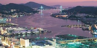 長崎の街を一望できる展望露天風呂