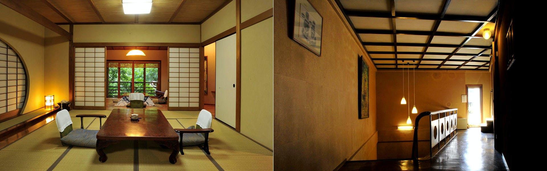 客室一例/廊下