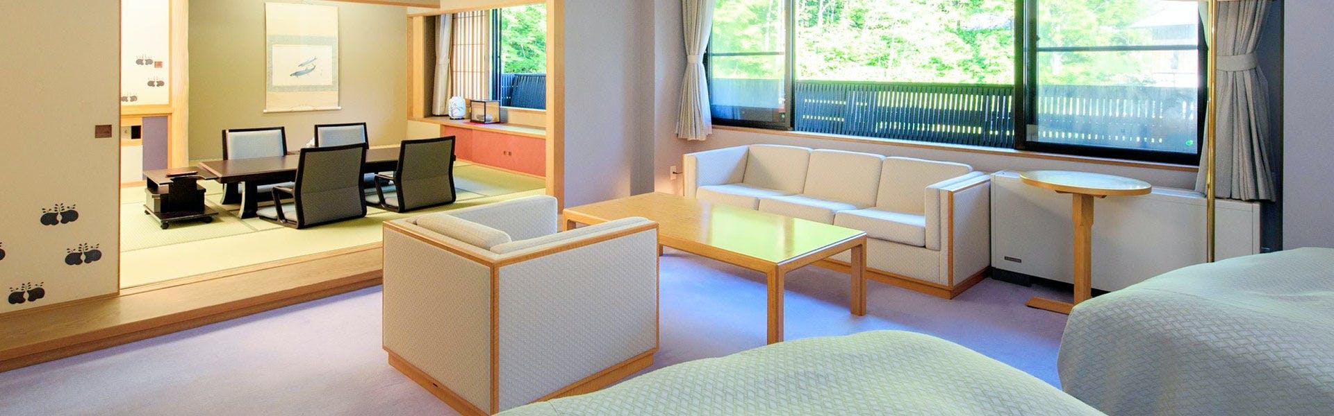 記念日におすすめのホテル・【別邸 山の季】の写真2