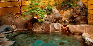 露天風呂大浴場