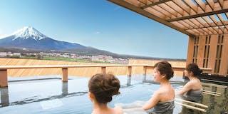 露天風呂 富士山