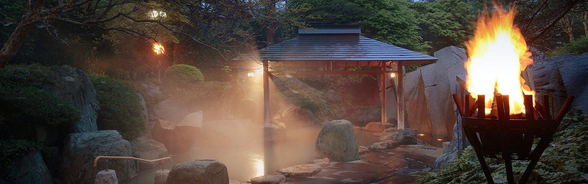 記念日におすすめのホテル・仙台 秋保温泉 篝火の湯 緑水亭の写真2