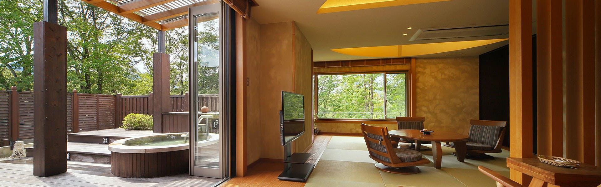 記念日におすすめのホテル・仙台 秋保温泉 篝火の湯 緑水亭の写真1