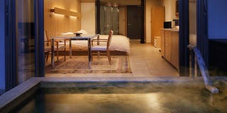 露天風呂付客室 星物語「銀河の祭」
