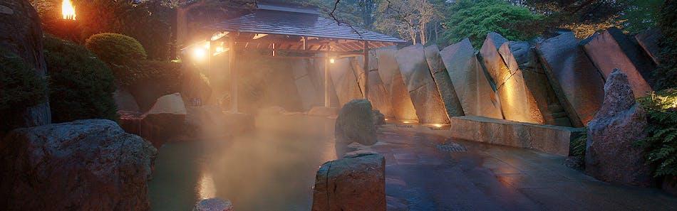 仙台 秋保温泉 篝火の湯 緑水亭