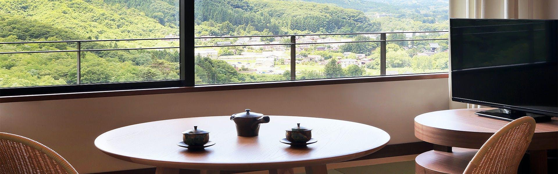 記念日におすすめのホテル・仙台 秋保温泉 篝火の湯 緑水亭の写真3