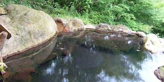 露天風呂「川の音」
