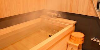 国産総檜風呂