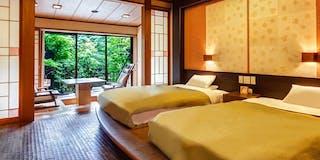 庭園露天風呂付和モダン客室(西館)
