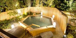 庭園露天風呂「葵」