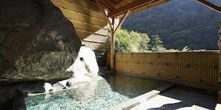 岩戸の野天風呂